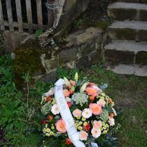 Coussin rond obsèques