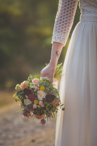 Le bouquet bohême