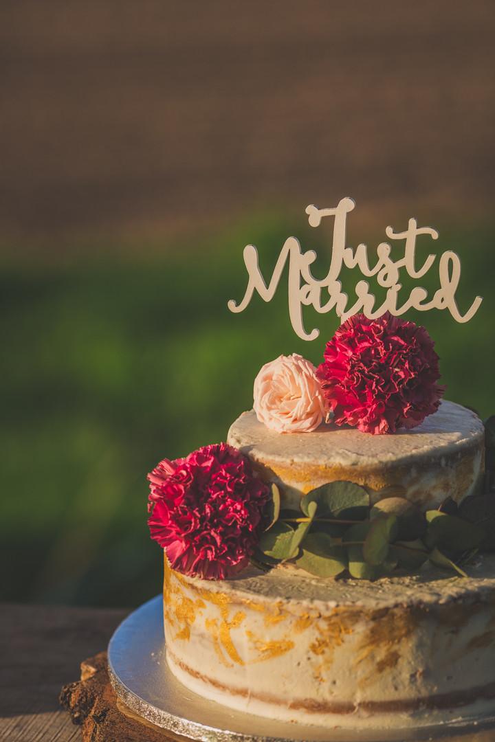 Wedding cake bohême