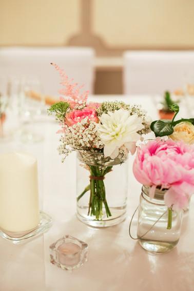 Bouquet pour table de mariage