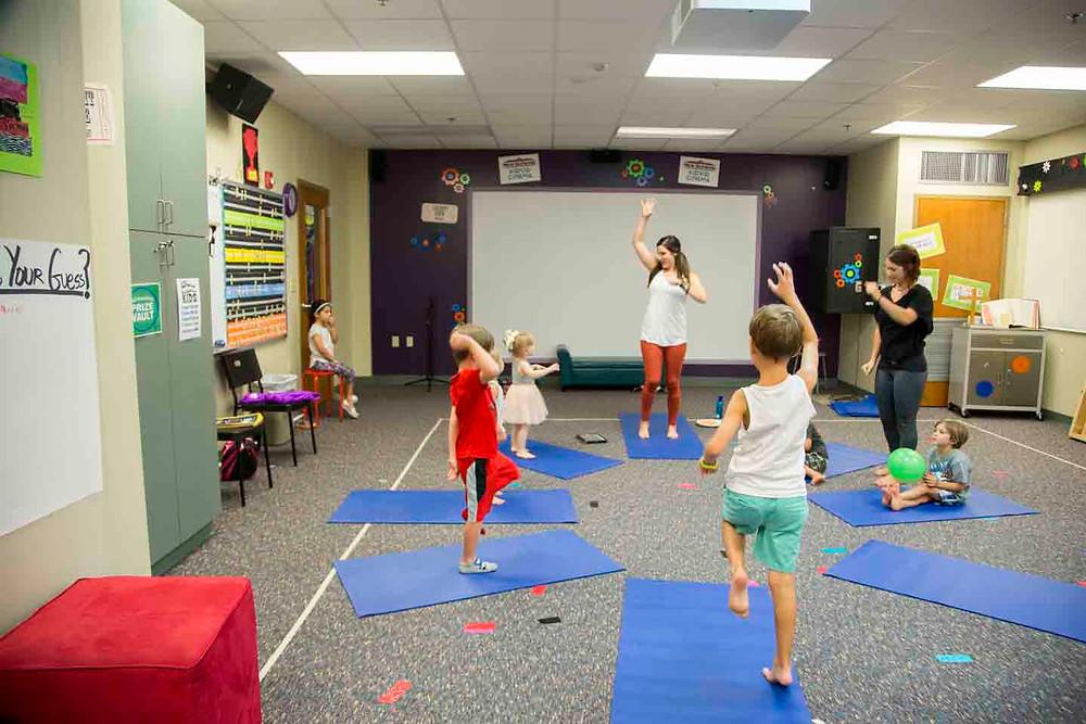 Central Florida kids yoga school class