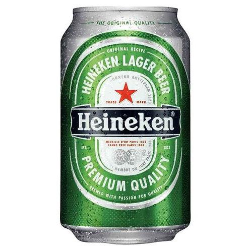 Canette de bière blonde HEINEKEN 33 cl