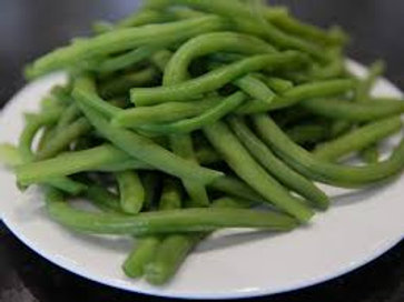 Accompagnement - Assiette haricots verts