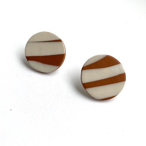 Democracy - Rust / Cream Studs