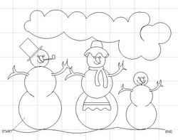 Forever in Stitches FIS_Christmas-Snowfamily