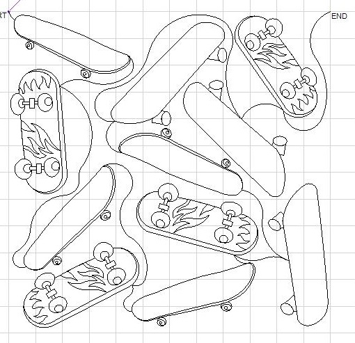 JKraker Skateboards PANTO