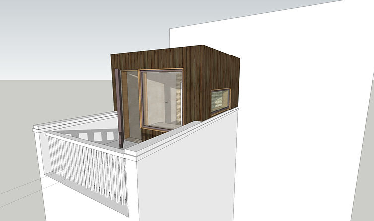 Roof extension Architect