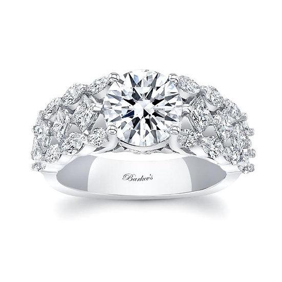 8208L WHITE GOLD DIAMOND ENGAGEMENT RING