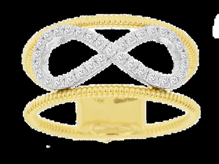 LADIES DIAMOND RING C8504D