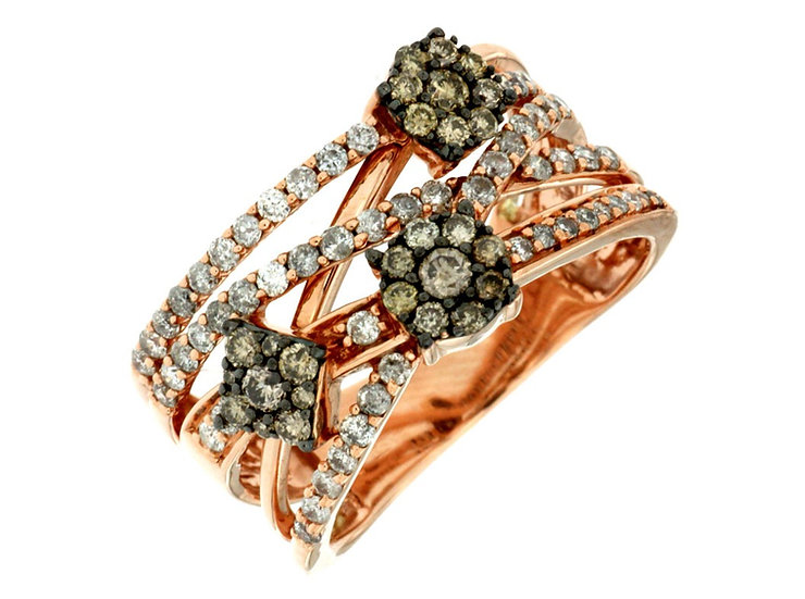 DIAMOND & MOCHA RING PC6878V
