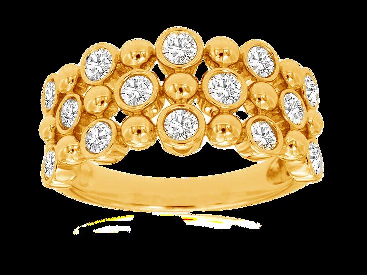 LADIES DIAMOND RING C8961D