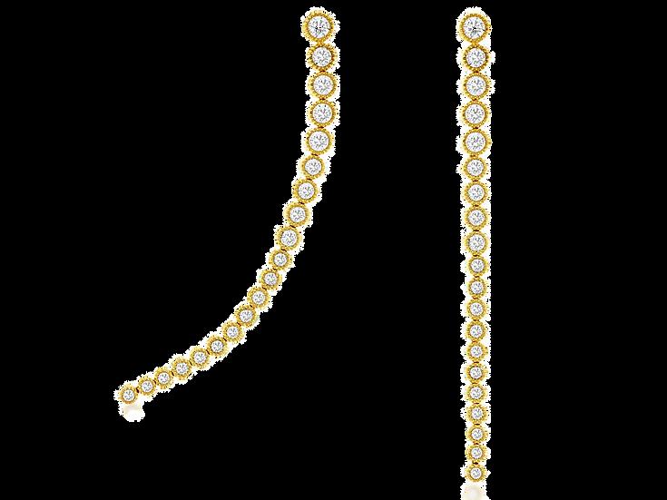 DIAMOND EARRING C8007D