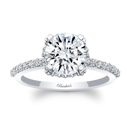 8131L WHITE GOLD ENGAGEMENT RING