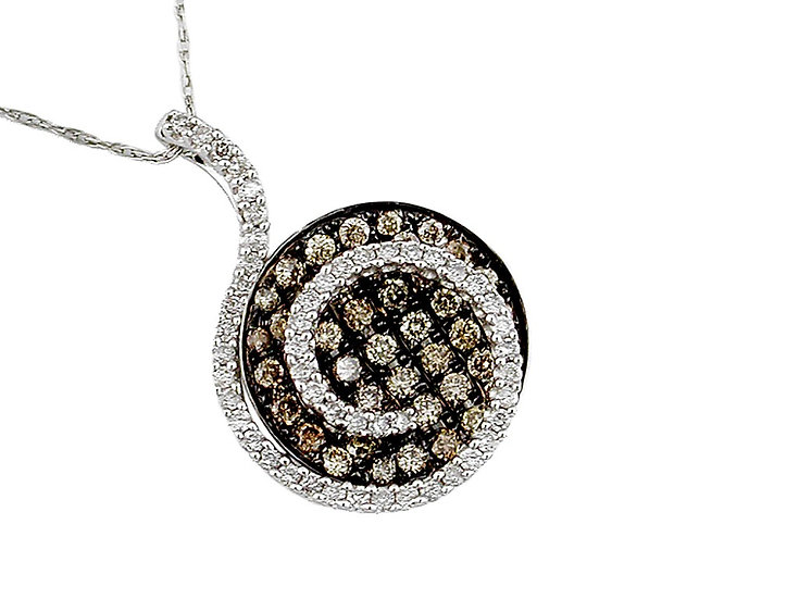 DIAMOND & MOCHA DIAMOND PENDANT WC3957V