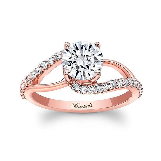 8149LP ROSE GOLD ENGAGEMENT RING