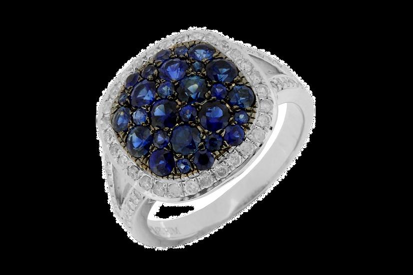 DIAMOND & SAPPHIRE RING WC4639S