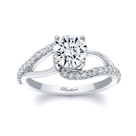 8149L WHITE GOLD ENGAGEMENT RING