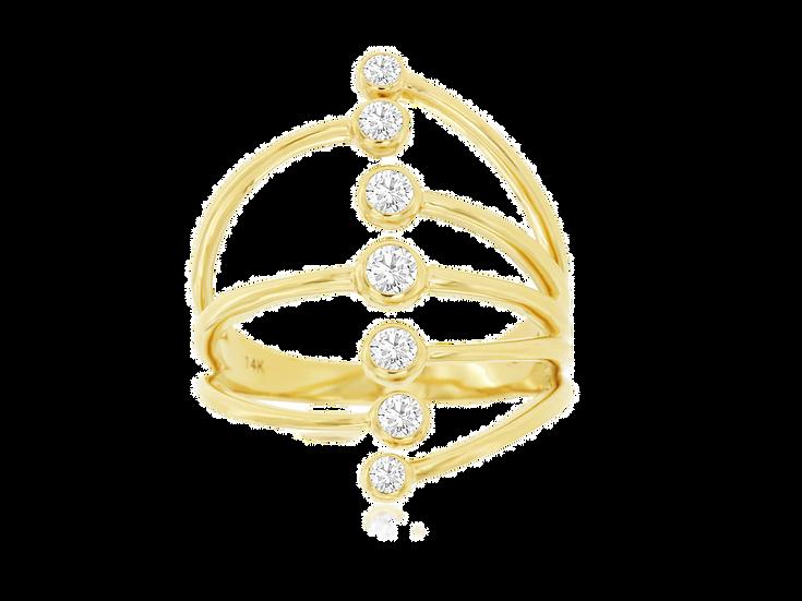 LADIES DIAMOND RING C9010D