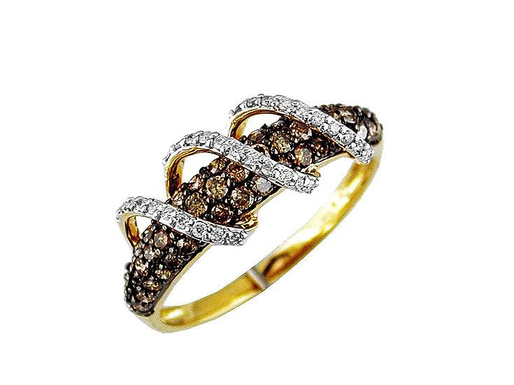 DIAMOND & MOCHA DIAMOND RING C4096V