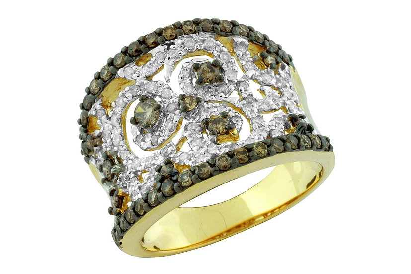 DIAMOND & MOCHA DIAMOND RING C5096V
