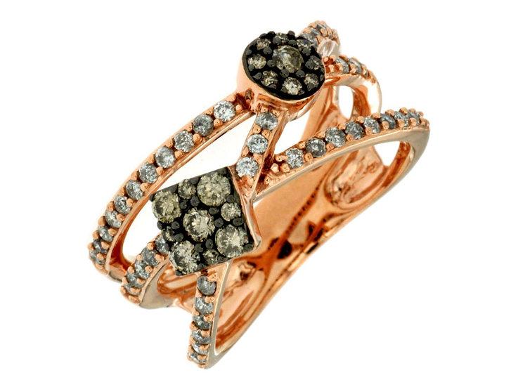 DIAMOND & MOCHA DIAMOND RING PC6882V