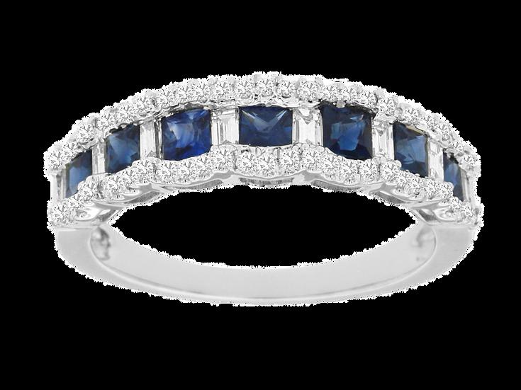 SAPPHIRE & DIAMOND RING WC9126S