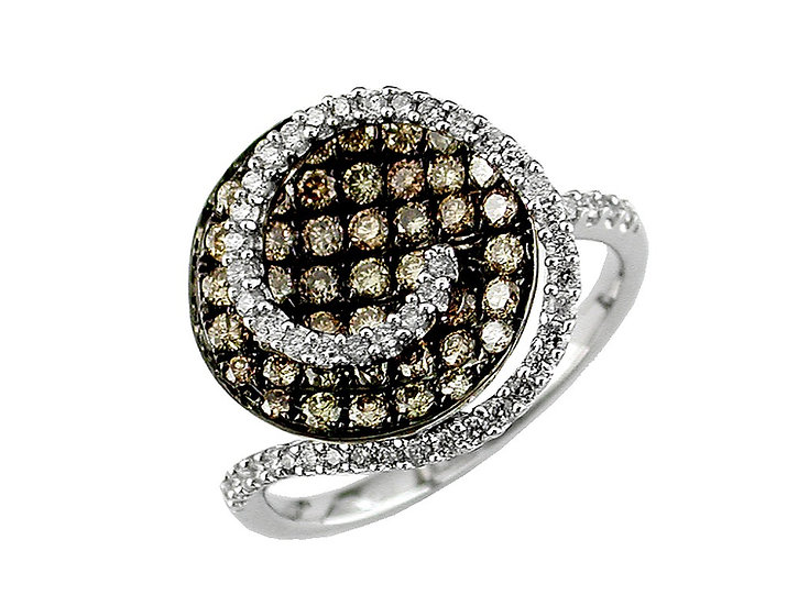 DIAMOND & MOCHA DIAMOND RING WC3958V