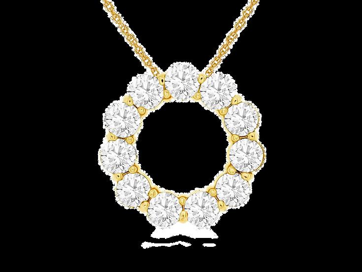 DIAMOND PENDANT C8302D