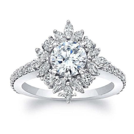 8065L WHITE GOLD ENGAGEMENT RING