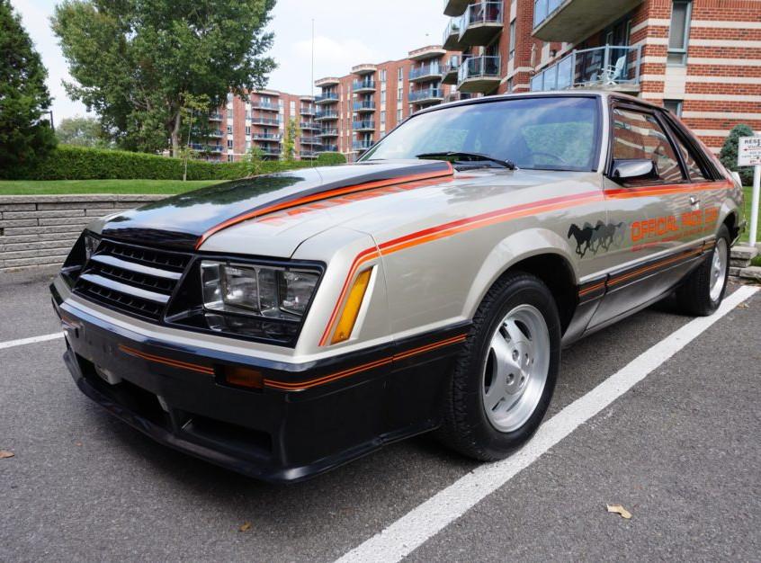 Carro de Cena - Mustang 3a geração