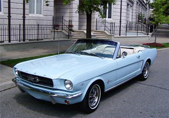 Carro de Cena - Mustang 1a geração