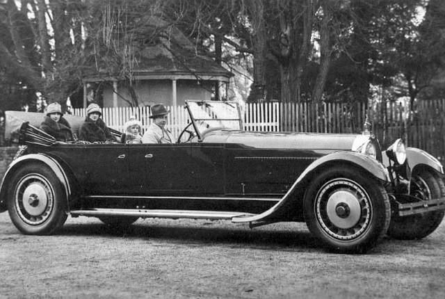 Carro de Cena - Bugatti Royale