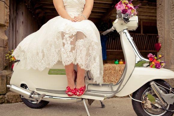 Lambretta e Vespa - Casamento