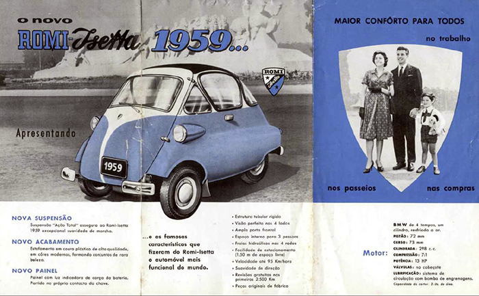 Romi Isetta - Carro de Cena
