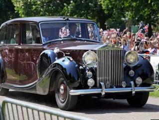Carros do Casamento Príncipe Harry & Meghan Markle