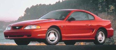 Carro de Cena - Mustang 4a geração