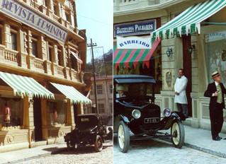 História da CARRO DE CENA