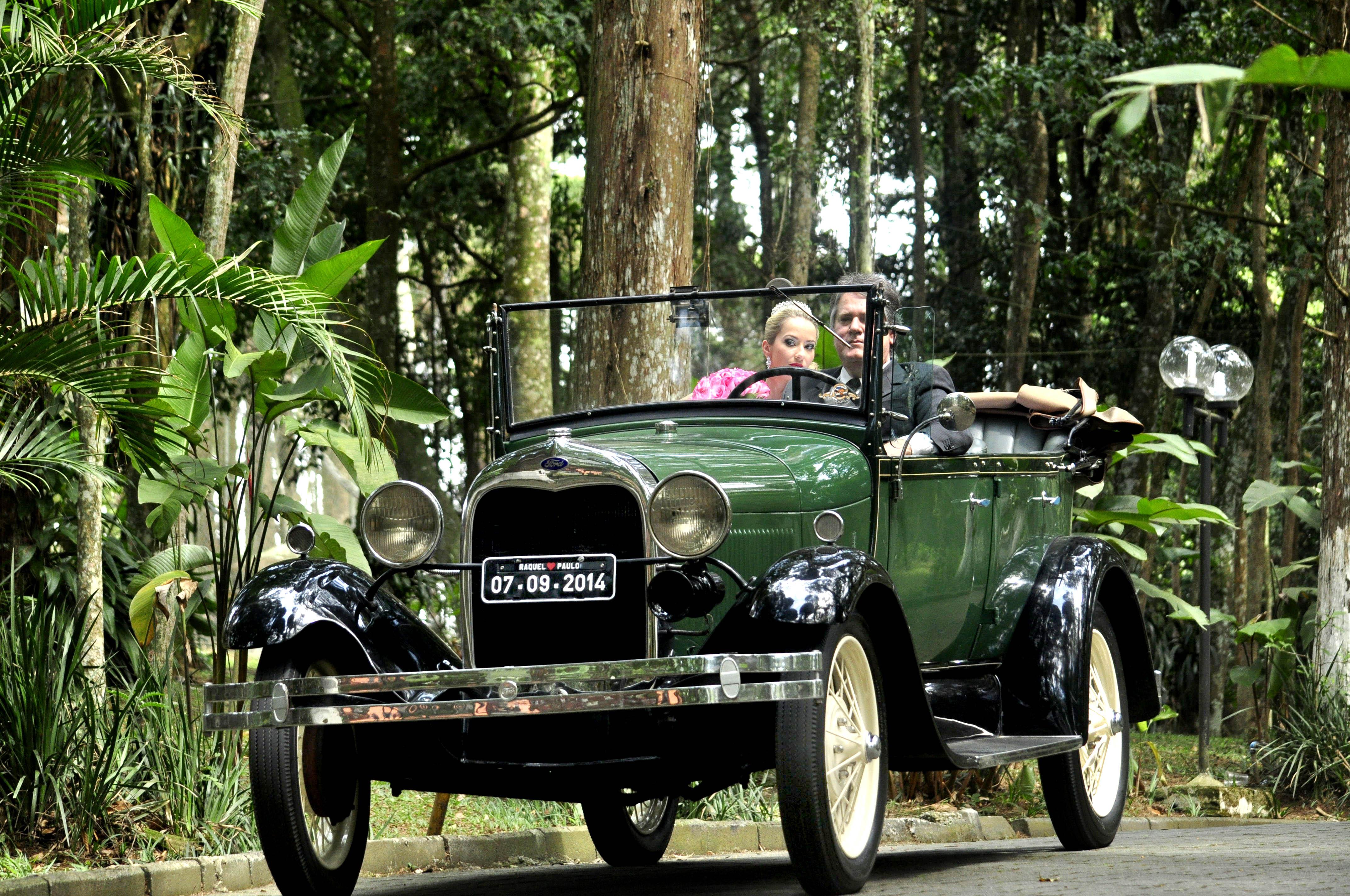 Ford 1928 Conversível - Casamento