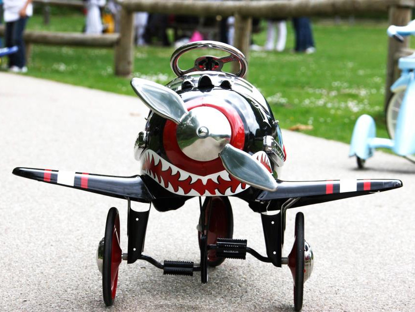 Pedal Car k-attack-pedal-airplane-62