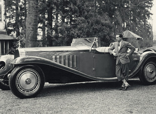 Ettore Bugatti - I make my cars to go, not stop!
