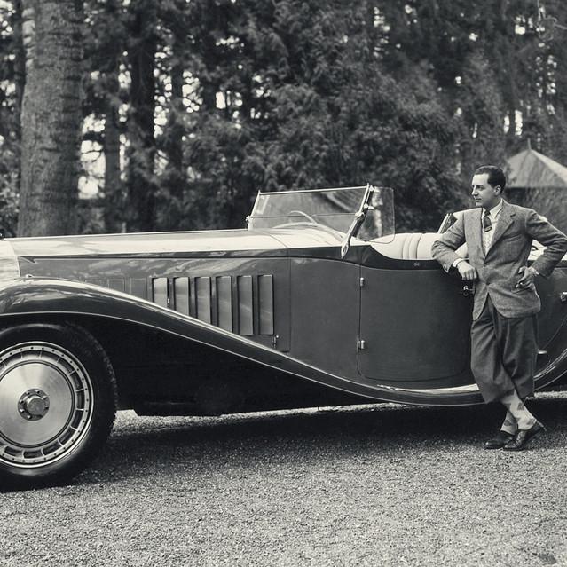 Carro de Cena - Bugatti Type 41