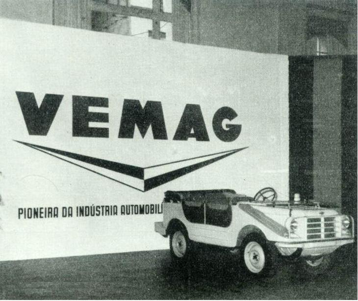 Fábrica Vemag - Carro de Cena