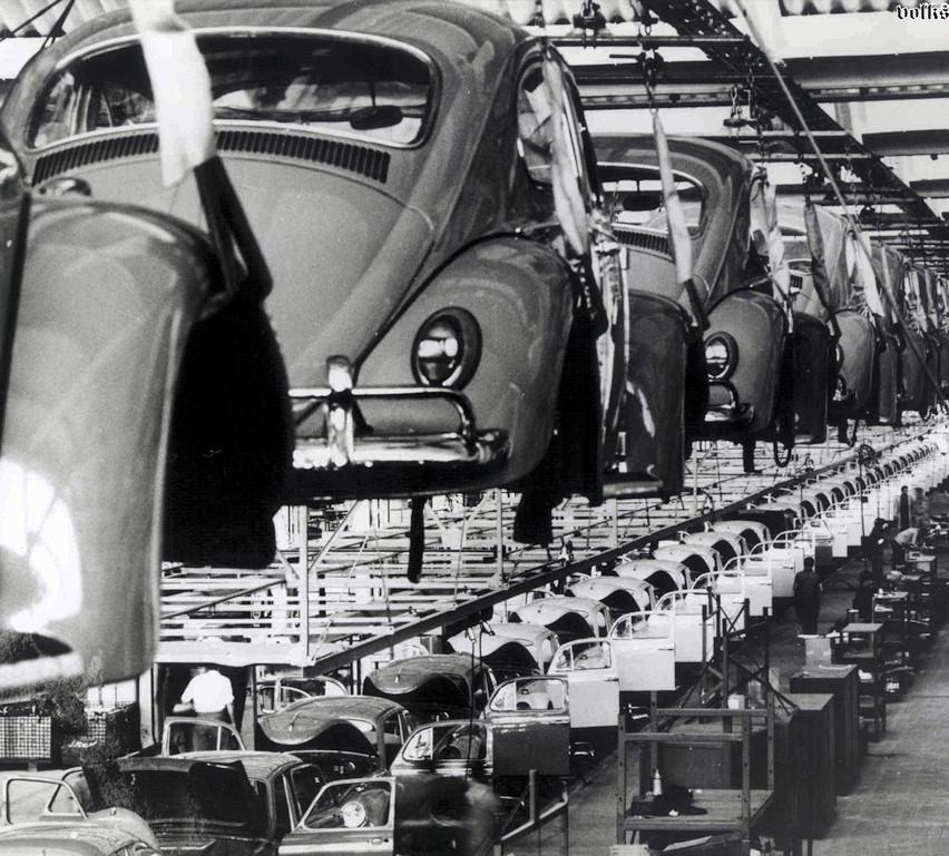 Fábrica Volkswagen - Carro de Cena
