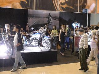 Exposição Harley Davidson Shopping