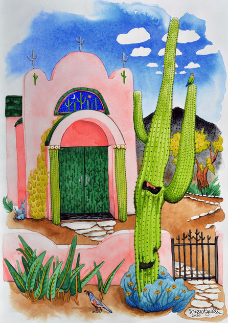 """Chapel of the Holy Saguaro"""