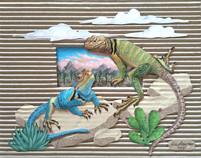 Collared Lizards' Dream