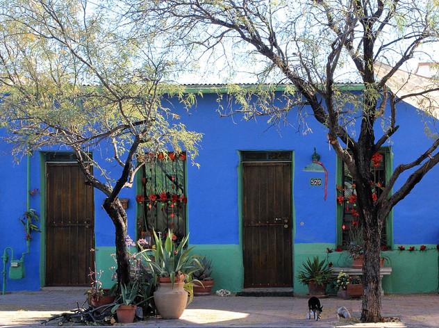 """Winter Morning Stroll - Barrio Viejo"""