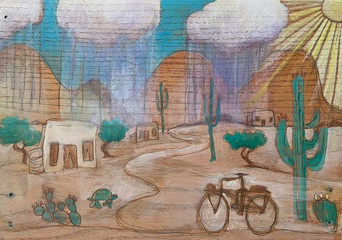 """Monsoon Rider"""