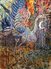 """""""Blue Heron Totem"""""""