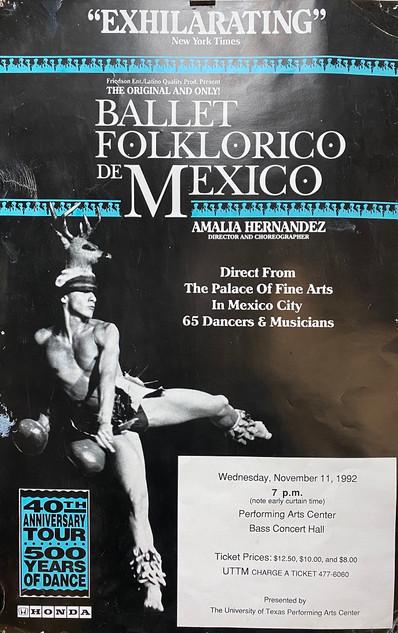 Ballet Folklorico de Mexico Poster